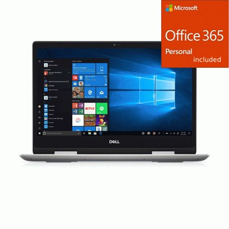 "Dell Inspiron 14"" 2-in-1 Laptop Core i7-8565U 8GB RAM 256GB + Office 365 Bundle"