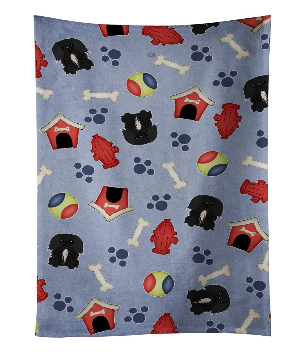 Dog House Collection Pekingnese Black Kitchen Towel BB2720KTWL by Caroline's Treasures