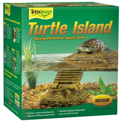 Tetrafauna Multi-Color Turtle Island Floating Platform, Medium