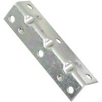 4-Pk., 3.5 x .75-In. Zinc Corner Brace