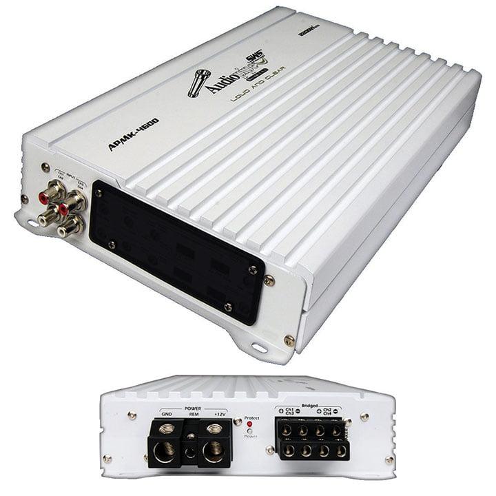 Audiopipe APMK4600 Marine Amplifier 2200 Watt 4 Channel