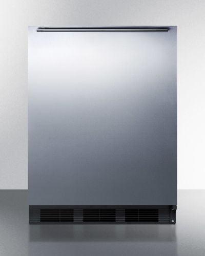Summit Built-in under-counter refrigerator-freezer - Medi...