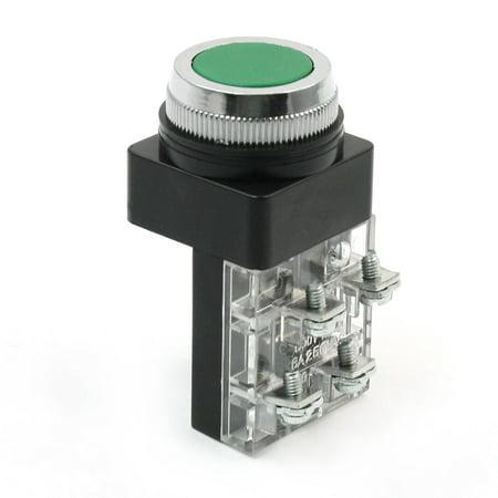 No Nc Momentary Green Push Button Pushbutton Switch Ac