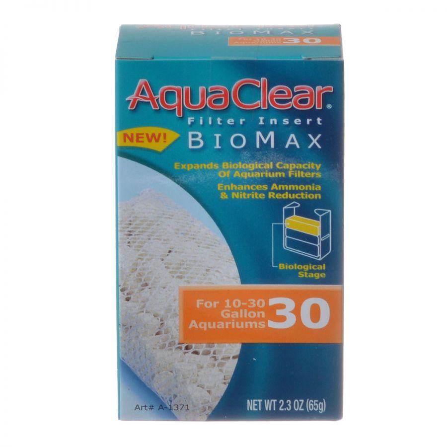 Aquaclear Bio Max Filter Insert Bio Max 30 (Fits AquaClear 30 & 150) - Pack of 2