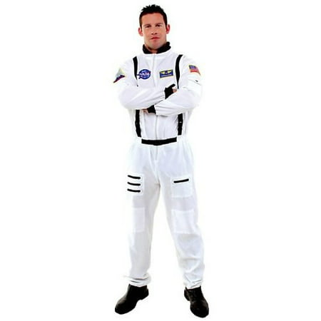 Astronaut Adult Halloween Costume (Good Halloween Costumes Fat Guys)