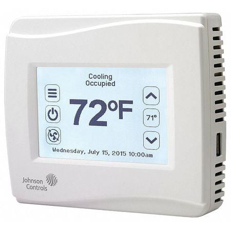 Thermostat,PNP,Dehumid No,Sensor Yes JOHNSON CONTROLS TEC3320-00-000