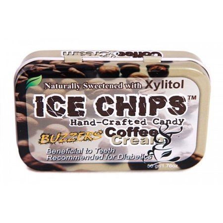 Hand Crafted Candy Tin Coffee & Cream Ice Chips Candy 1.76 oz - Craft Candy
