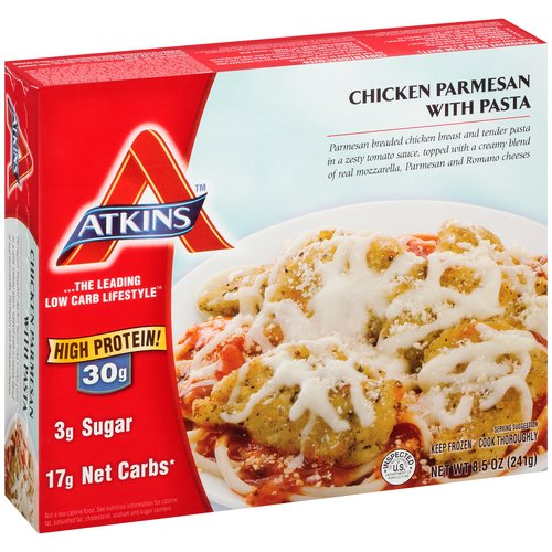 Atkins Chicken Parmesan with Pasta, 8.5 oz