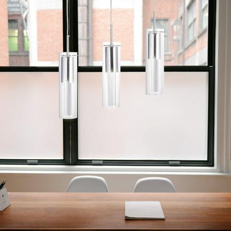 Fine Art Lamps Modern Chandelier (Gymax Modern Ceiling 3-Light Chandelier Lighting Fixture Pendent Lamp Home Dining Room)