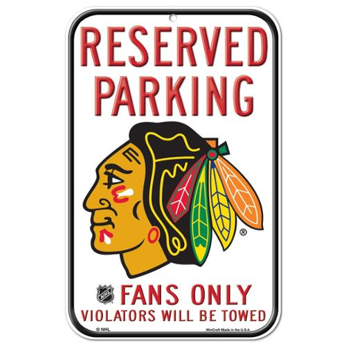 Chicago Blackhawks Official NHL 11 inch x 17 inch  Sign by Wincraft