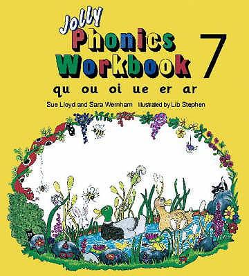 Jolly Phonics Workbook 7qu, Ou, Oi, Ue, Er, AR