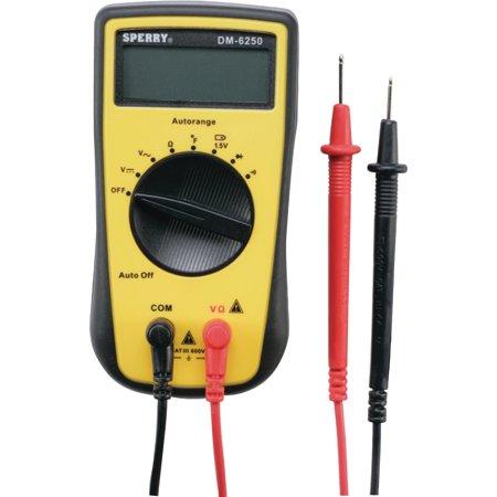 GB Gardner Bender DM6250 Digital Multimeter 7 Function 14 Range