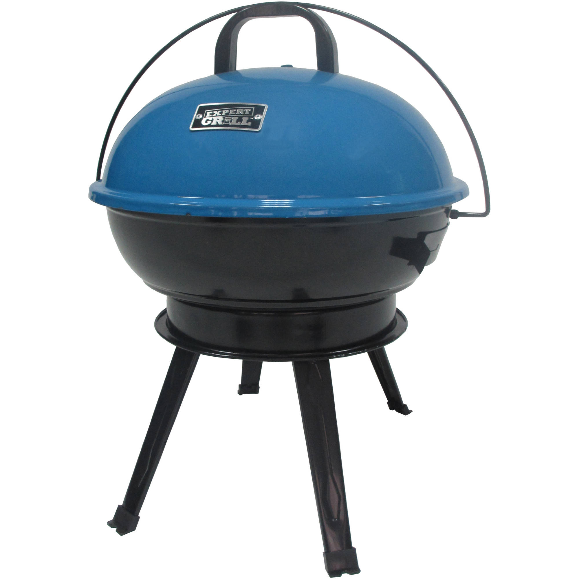 "Expert Grill 14.5"" Portable Charcoal Grill, Summer Lagoon"