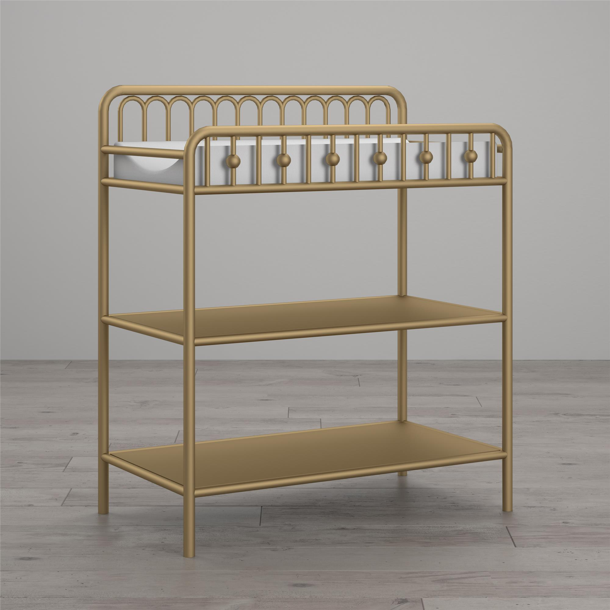 Good Little Seeds Monarch Hill Ivy Metal Changing Table, Multiple Colors