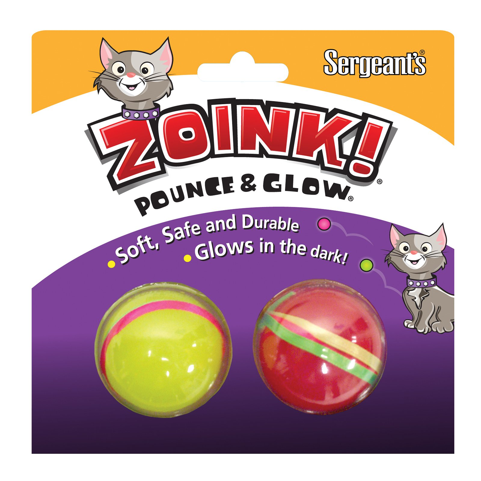 Sergeants Pet Care Products Kitty Glow Balls