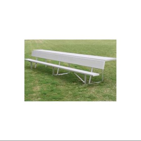 15 Foot Surface Mount Players Field Or Dugout Bench