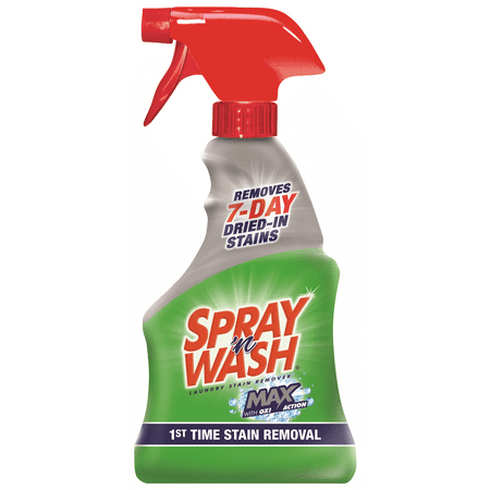 Spray N Wash Max Laundry Stain Remover 16oz Bottle