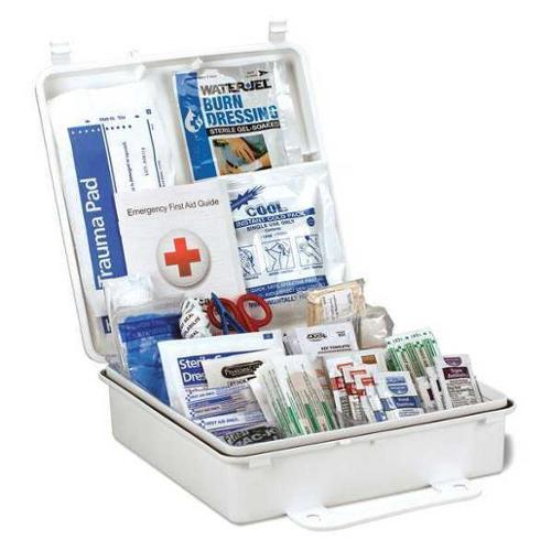 FIRST AID ONLY 54773 First Aid Kit,9-7/64 in.D x 2-3/4 in.H G3111355