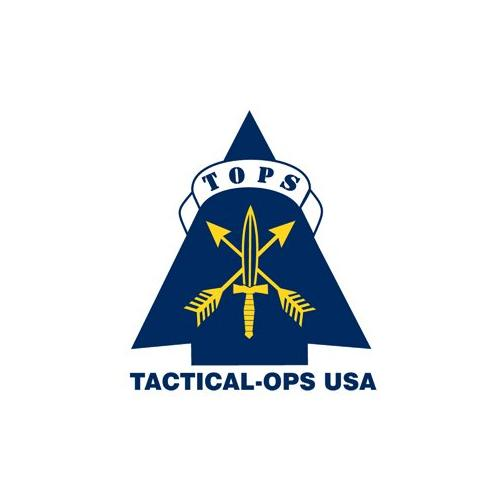 "TOPS Knives Stryker Defender Tool Knife, 4.75"" Black Blade/Black Micarta Handle"