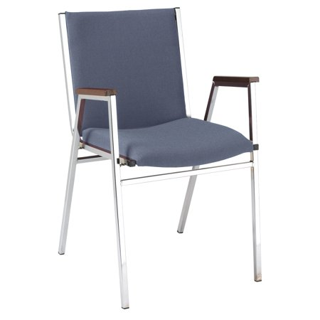 KFI 421 Stacking Chair - Multiple Colors Fabric - 2in Thick Seat