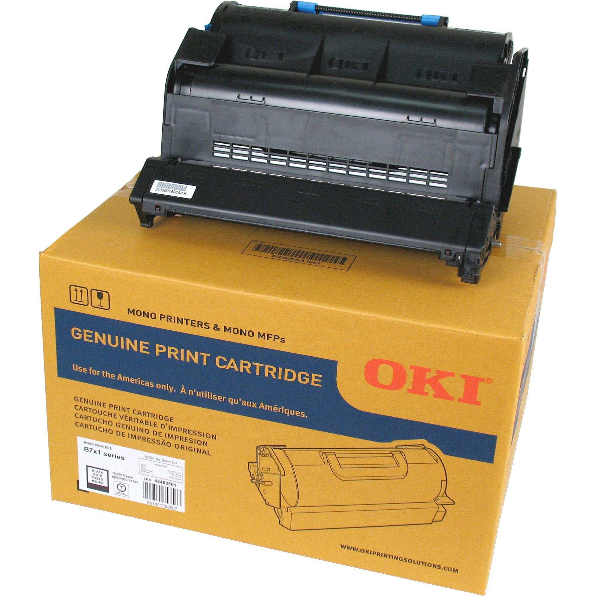 Oki, OKI45488801, 45488801/901 Toner Cartridges, 1 Each