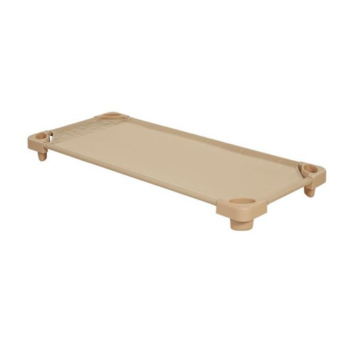 ECR4Kids Standard Stackable Single Assembled Kiddie Cot by Early Childhood Resources