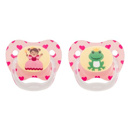PreVent Classic Pacifier Stage 3, Explore Pink, 2-Pack