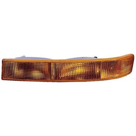 Compatible 2003 - 2014 GMC Savana 1500 Parking Light Assembly / Lens Cover - Right (Passenger) Side 23284115 GM2521188 Replacement For GMC Savana 1500 1500 Parking Light Replacement