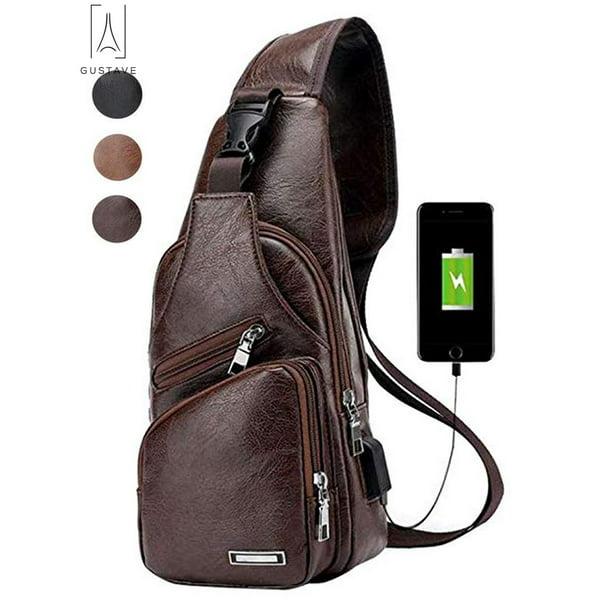Sling Bag Men Chest Shoulder Backpack
