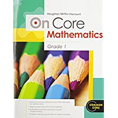 Houghton Mifflin Harcourt on Core Mathematics : Student Workbook Grade 1