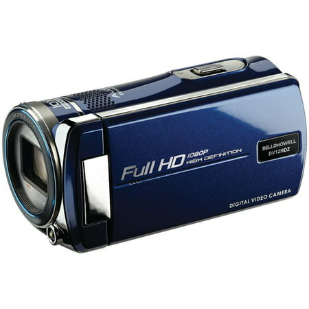 BELL+HOWELL DV12HDZ-BL 16.0-Megapixel Cinema DV12HDZ 1080p Digital Camcorder (Blue)