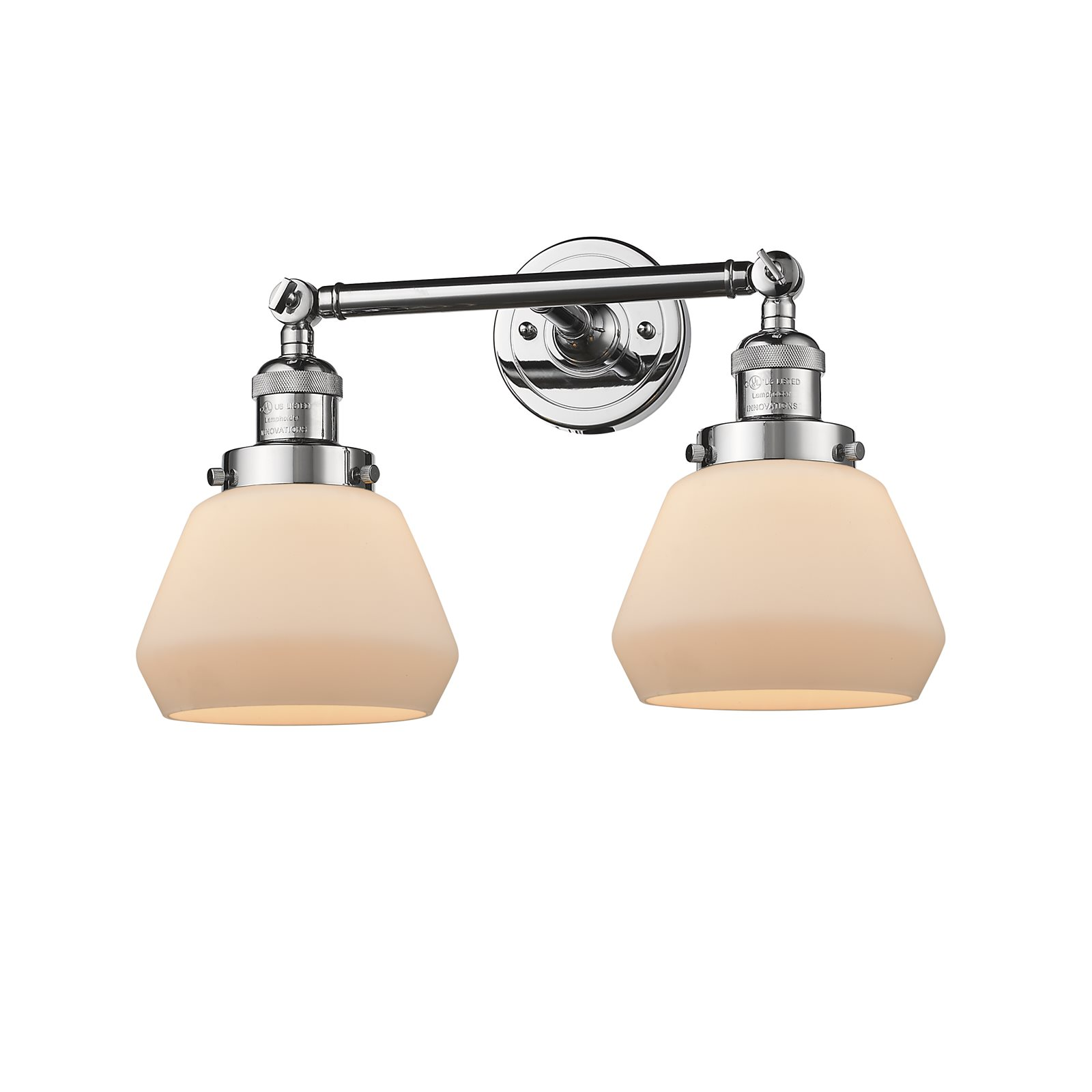 "Innovations 2-LT LED Fulton 16.5"" Bathroom Fixture Polished Chrome 208-PC-G171-LED by"
