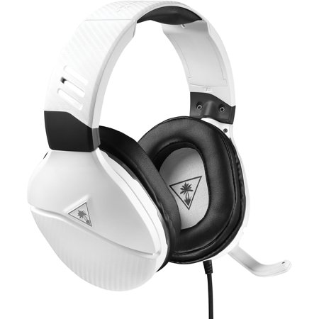 Turtle Beach Recon 200 Amplified Gaming Headset for Xbox One, PS4, PC, Mobile (White)