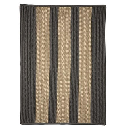 Colonial Mills BT19A008X028S 8 x 28 in. Boat House Black Stair Tread Rug, Set of 13 - image 1 de 1