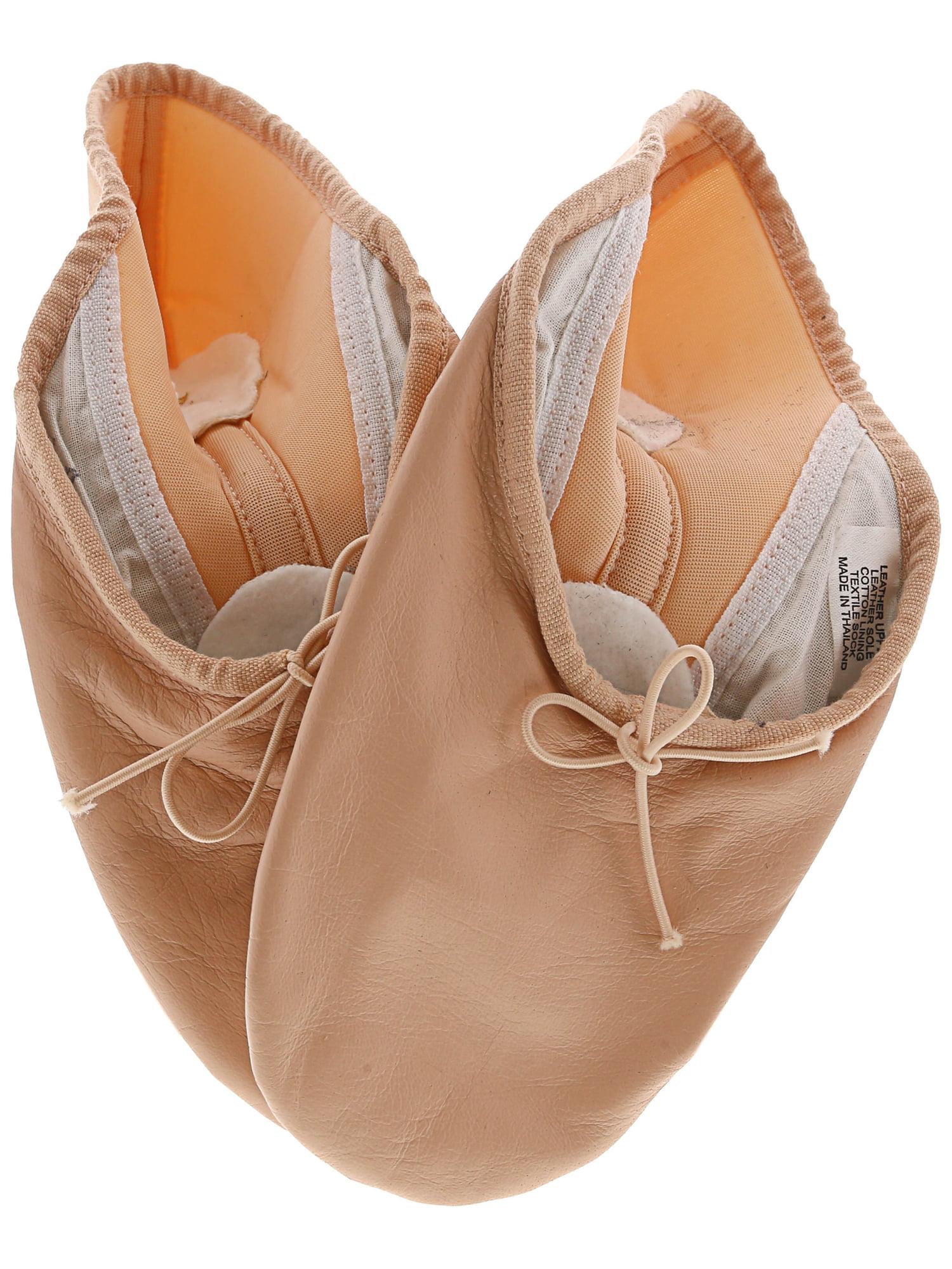 Bloch Women's Neo Hybrid Pink Leather Ballet Flat - 7.5M