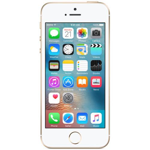 Straight Talk Apple iPhone SE 16GB Prepaid Smartphone, Gray