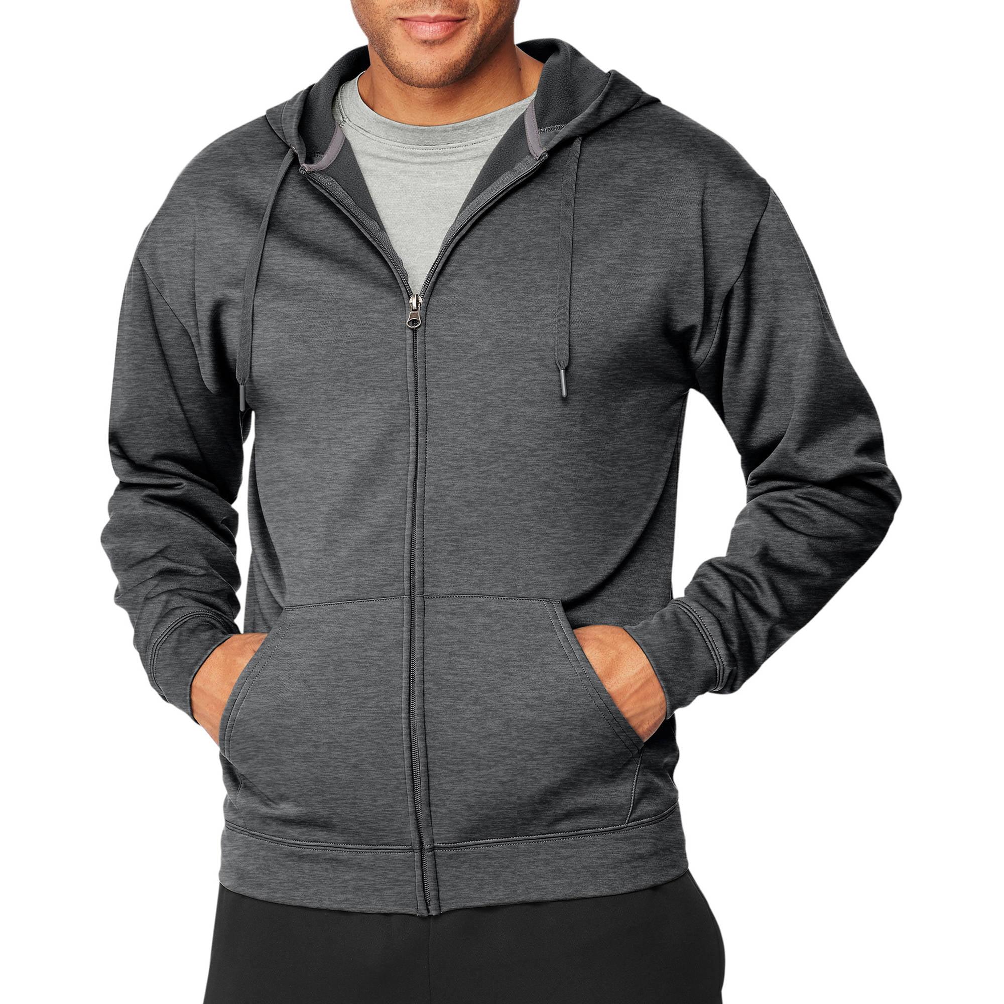 Sport Men's Performance Fleece Full-Zip Hoodie by Hanes Men's Athletic Child Code
