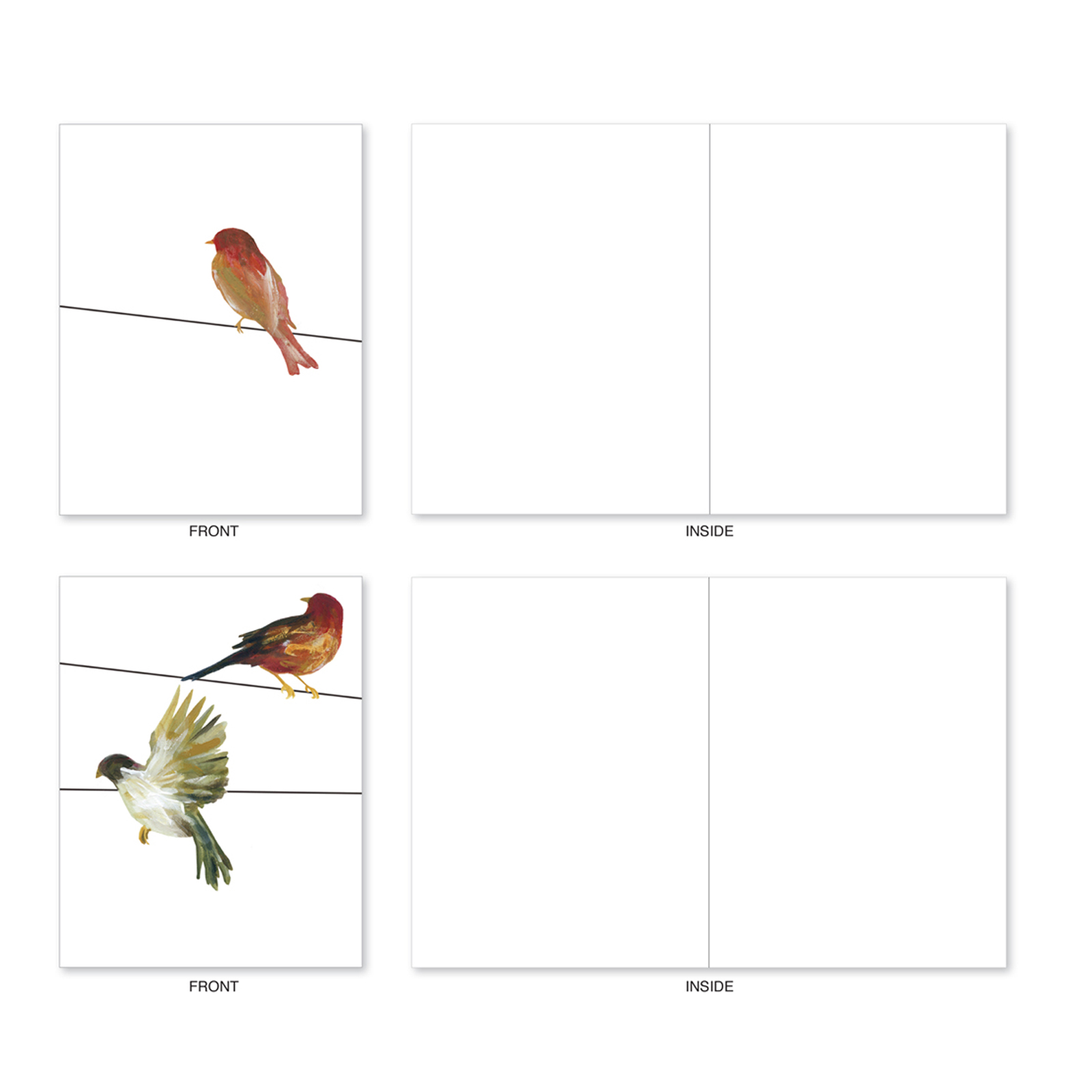 Bird Note Card-Number 18