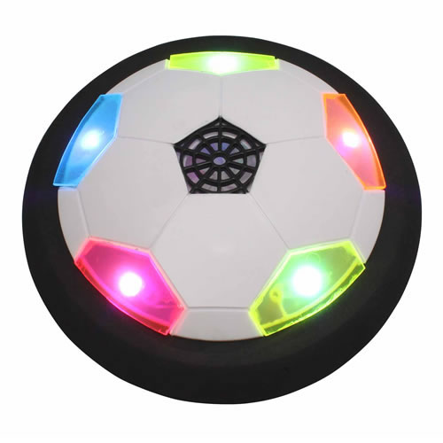 Toysmith Ultra Glow Air Power Soccer Disk by Toysmith