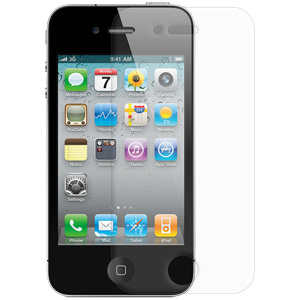 Premium Matte Anti Glare Screen Protector Scratch Guard for iPhone 4S, iPhone 4