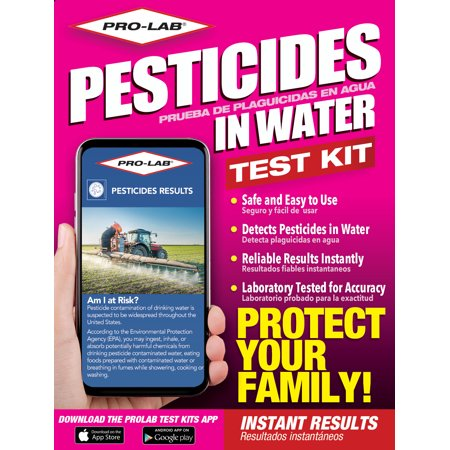 PRO-LAB Pesticides in Water Test Kit Water Testing Equipment