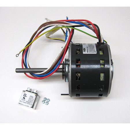 Furnace Air Handler HVAC Direct Drive Blower Motor Capacitor Included