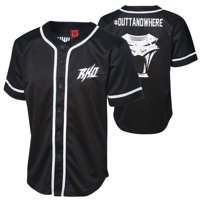 "Official WWE Authentic Randy Orton ""Outta Nowhere"" Baseball Jersey Multi Small"