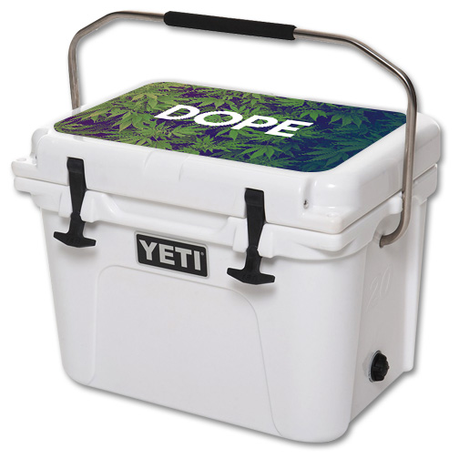 Skin For YETI Roadie 20 qt Cooler Lid – Dope | MightySkins Protective, Durable, and Unique Vinyl Decal wrap cover | Easy To Apply, Remove, and Change Styles | Made in the USA