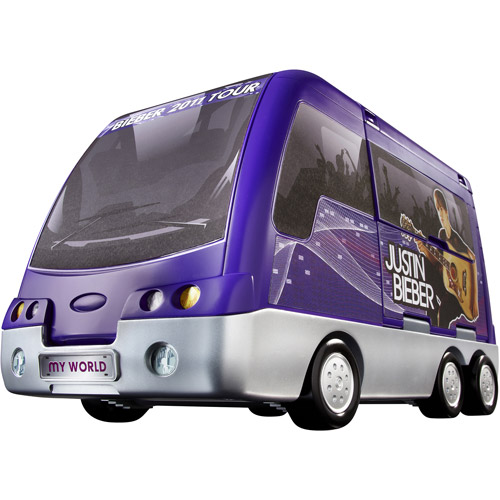 Justin Bieber Rockin' Tour Bus and Concert Stage Play Set