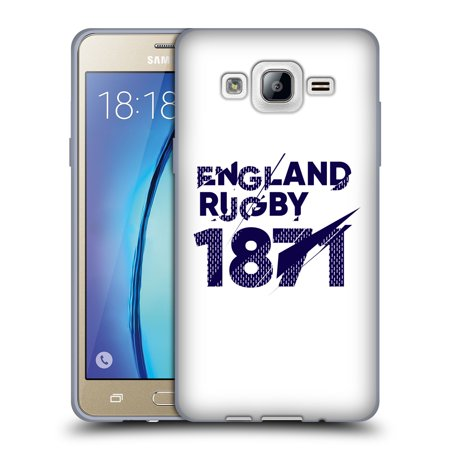 OFFICIAL ENGLAND RUGBY UNION 2017/18 FIRST XV SOFT GEL CASE FOR SAMSUNG PHONES -