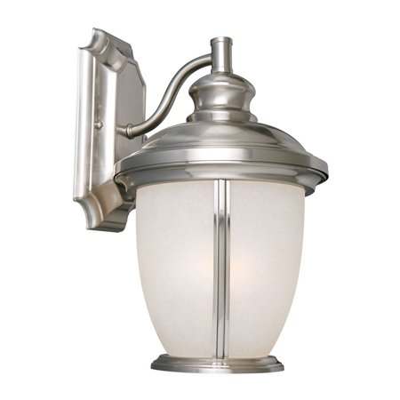 Design House 517698 Bristol 1-Light Indoor/Outdoor Wall Light, Satin (Bristol Place One Light)
