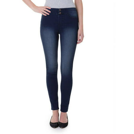 J Jeans by Jordache Juniors High Waisted Pull On Jegging