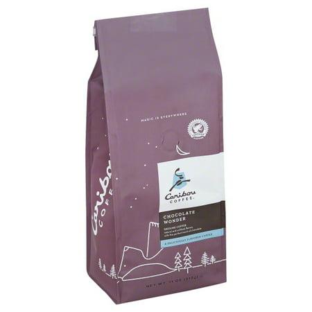Bourbon Chocolate Coffee (Caribou Coffee Chocolate Wonder Ground Coffee, 11 oz)