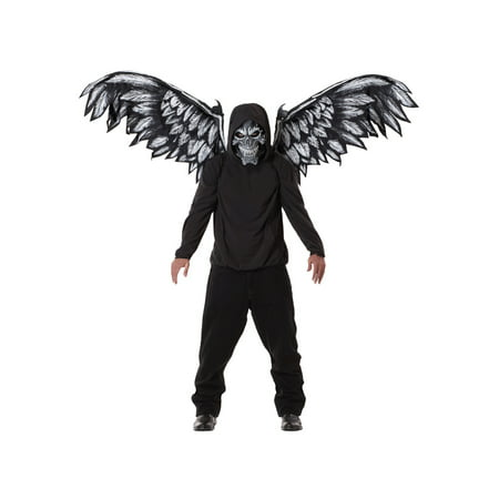 Fallen Angel Make Up (Fallen Angel Mask and Wings Adult Halloween)